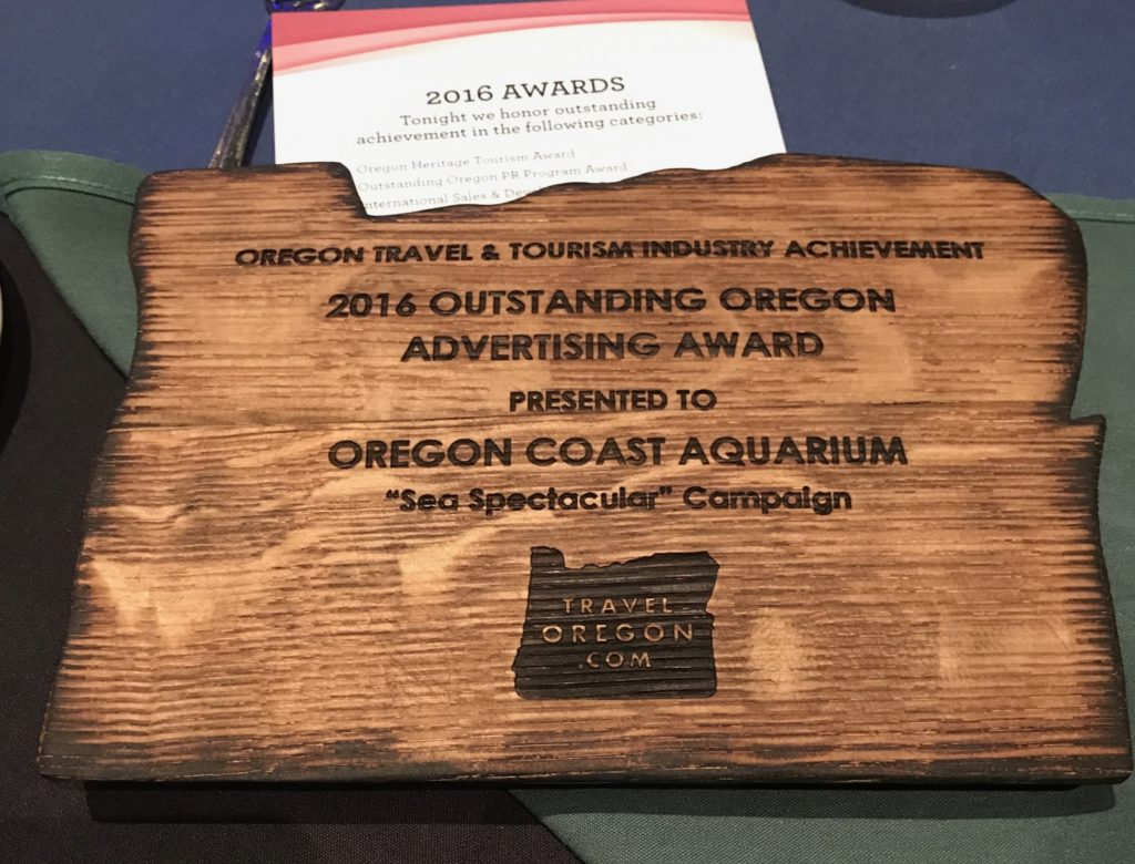 Oregon Travel and Tourism Industry Achievement Award