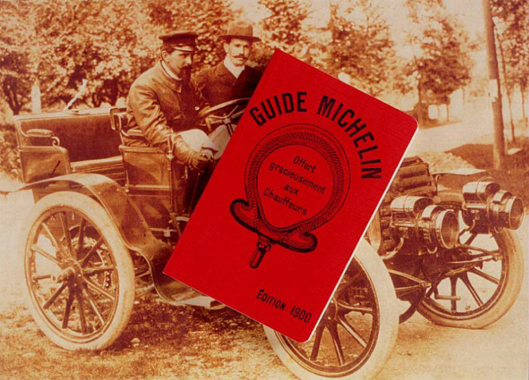 Brand Partnerships started when Michelin tires started a food guide.
